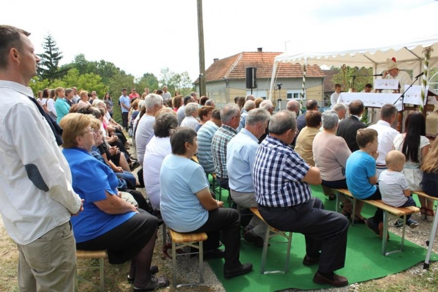 Vrhbosanski nadbiskup kardinal Vinko Puljić posjetio Marino Selo