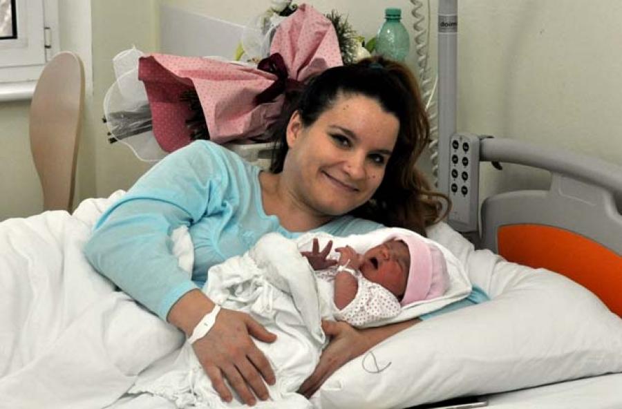Malena Elena prva beba rođena u 2018. godini