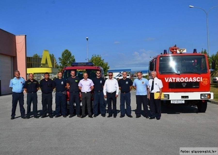 Čestitka vatrogascima povodom blagdana Sv. Florijana