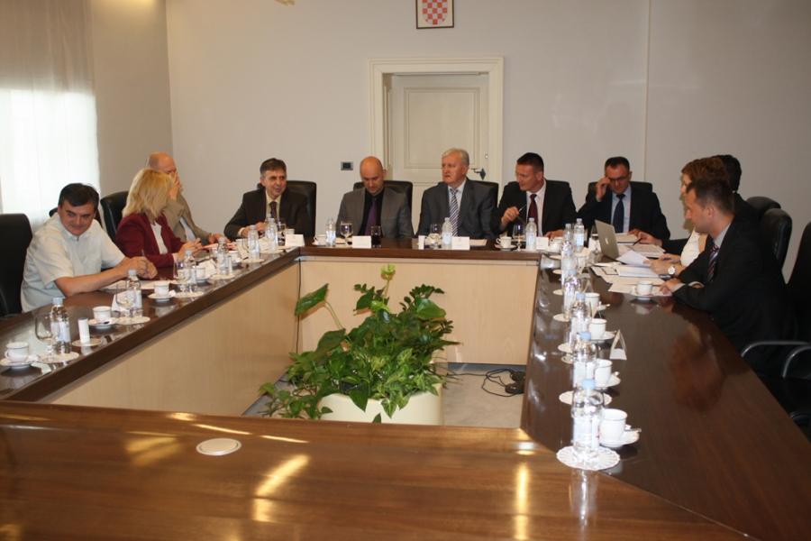 U Vukovaru održana koordinacija župana Slavonije i Baranje