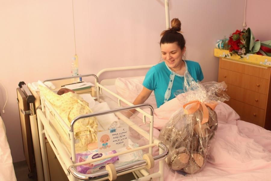 Prva beba rođena u Općoj županijskoj bolnici Pakrac