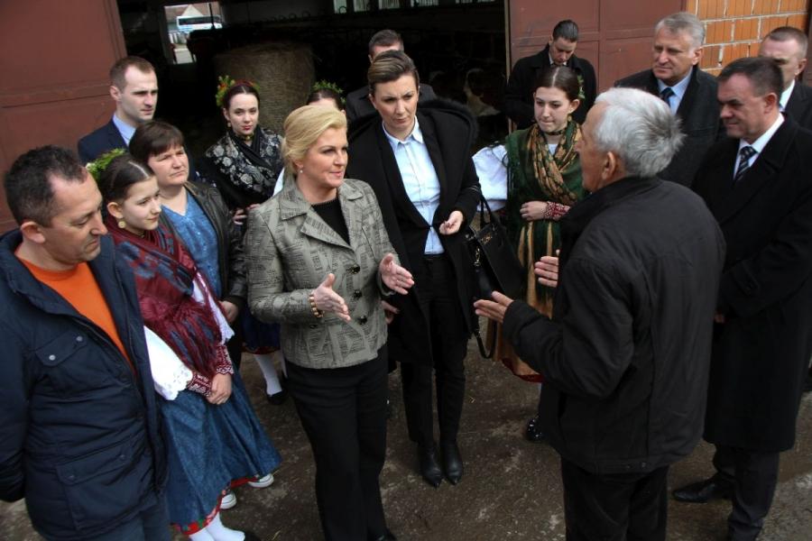 Predsjednica RH Kolinda Grabar- Kitarović želi pomoći poljoprivrednicima