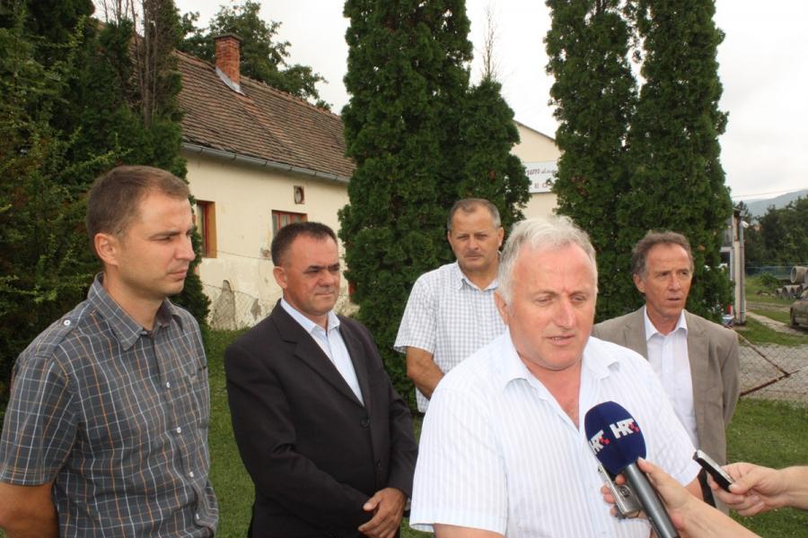 Župan u obilasku kapitalnih investicija na području općina Kaptol, Velika i Jakšić