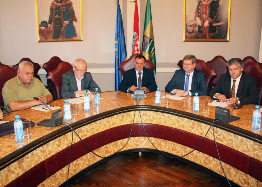 Održan radni sastanak Gospodarsko - socijalnog vijeća Požeško - slavonske županije