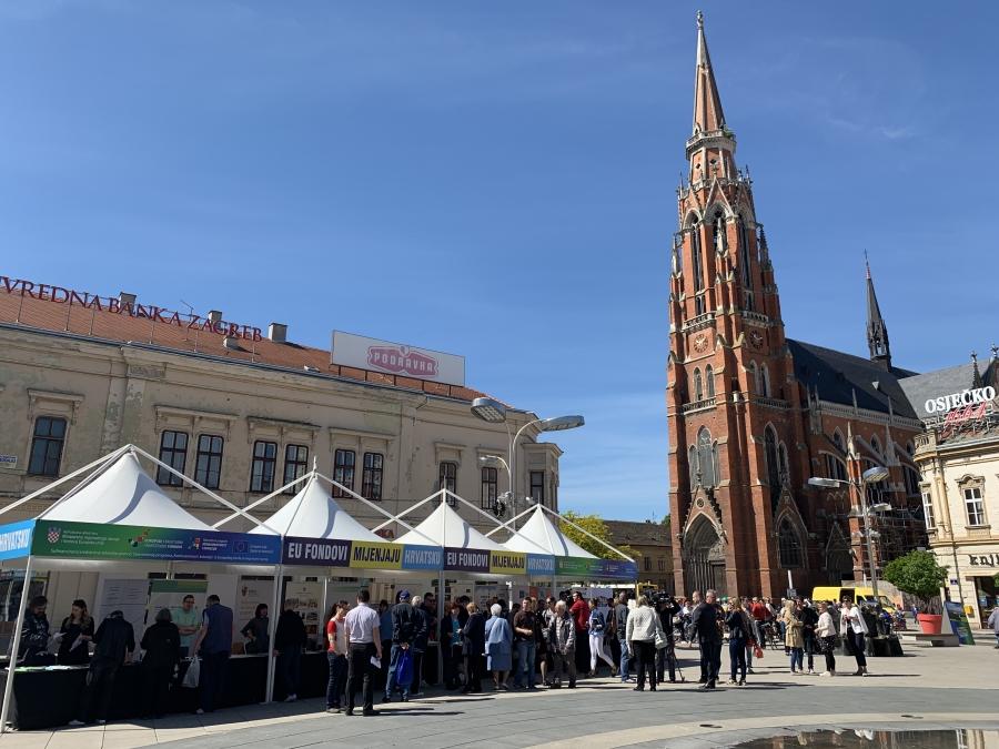 EU fondovi mijenjaju Hrvatsku - Osijek