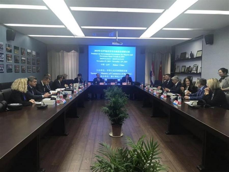 Delegacija Hrvatske zajednice županija i Udruge gradova u Kini