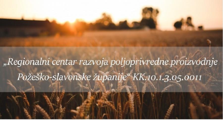 Poziv poljoprivrednicima za sudjelovanje u anketi o sektoru poljoprivrede u Požeško-slavonskoj županiji