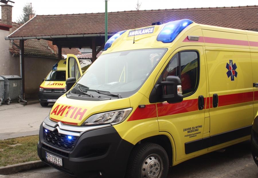 Primopredaja novih vozila Zavoda za hitnu medicinu Požeško-slavonske županije
