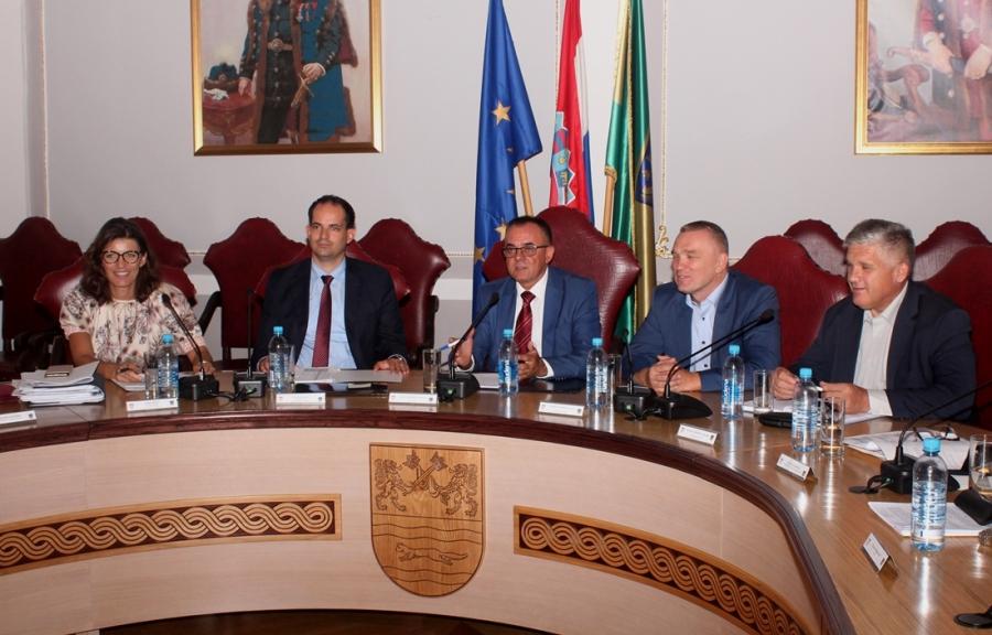Održan radni sastanak s ministrom uprave