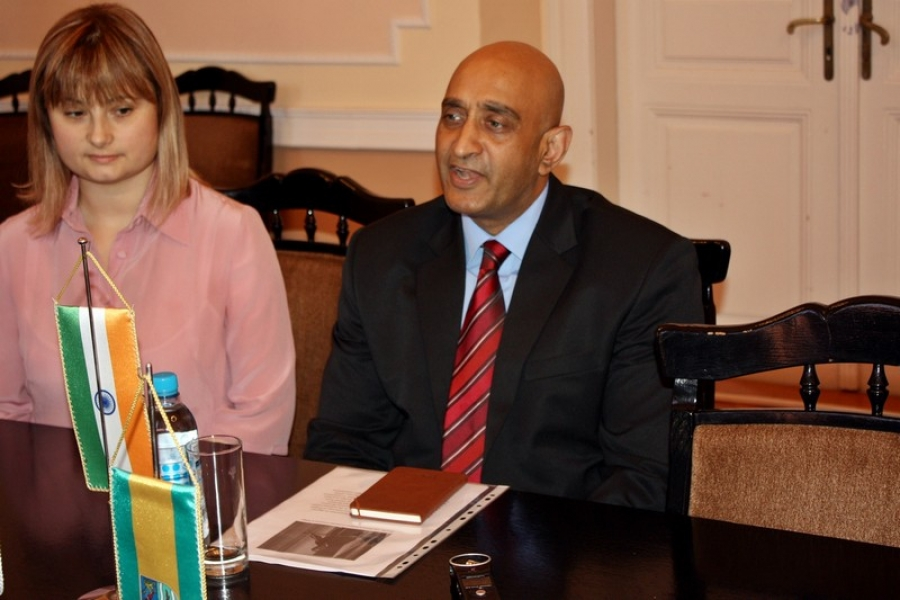Veleposlanik Indije u radnom posjetu Požeško – slavonskoj županiji