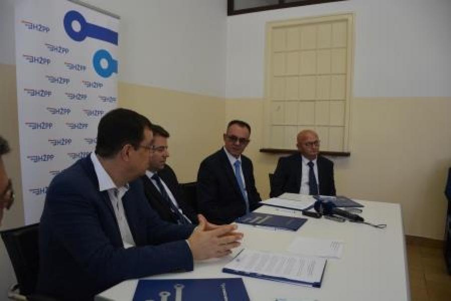 Župan potpisao Dodatak sporazumu o sufinanciranju prijevoza vlakom