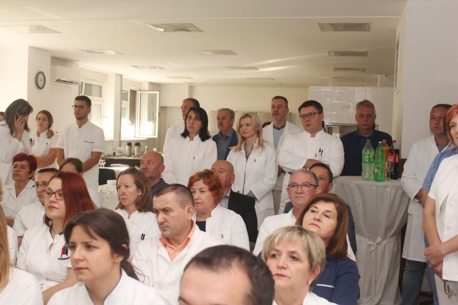 """U Općoj županijskoj bolnici Požega predstavljen projekt """"Zajedno do zdravlja"""""""