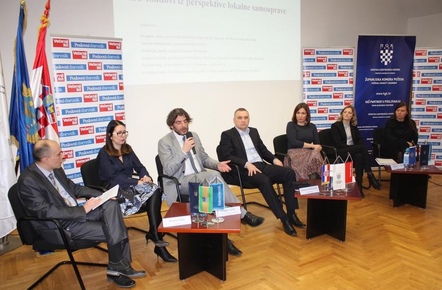 """Okrugli stol """"Uloga gradova u razvoju poduzetništva i EU fondova"""""""