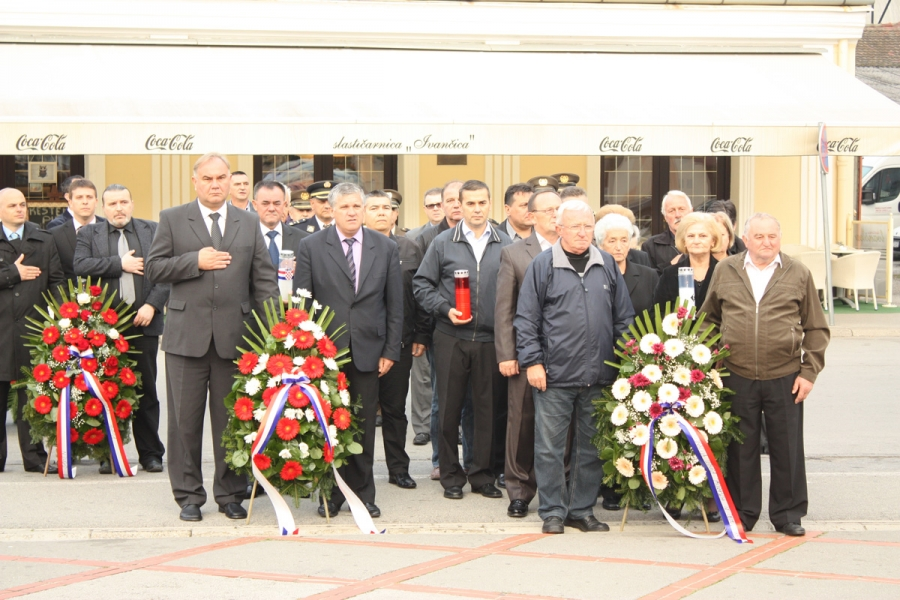 Odavanjem počasti poginulim hrvatskim braniteljima obilježen Dan neovisnosti Republike Hrvatske