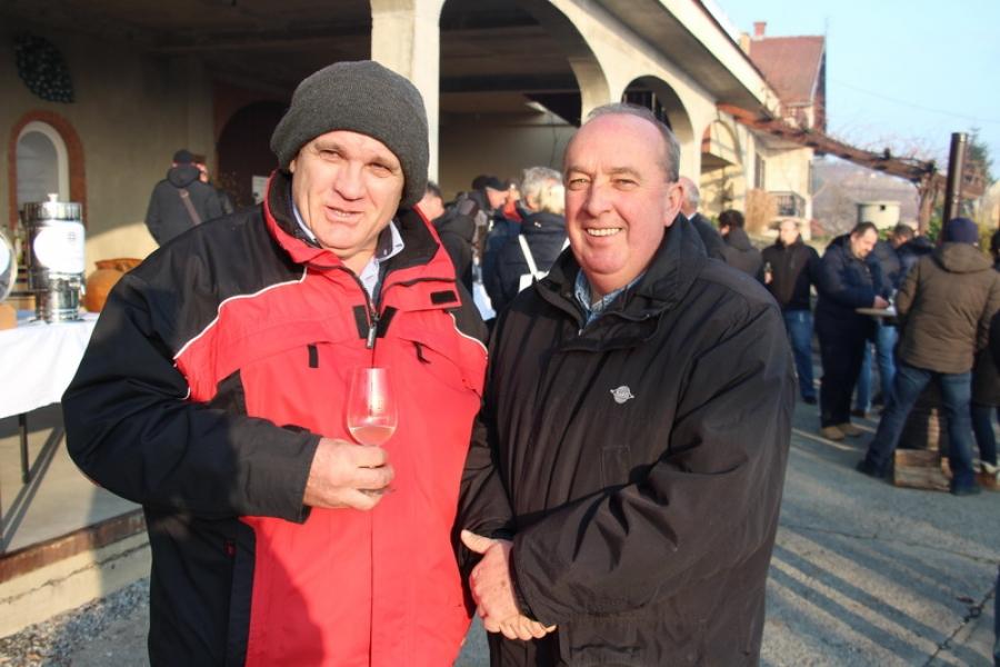 Vincelovo kod vinogradara i vinara Vlade Krauthakera