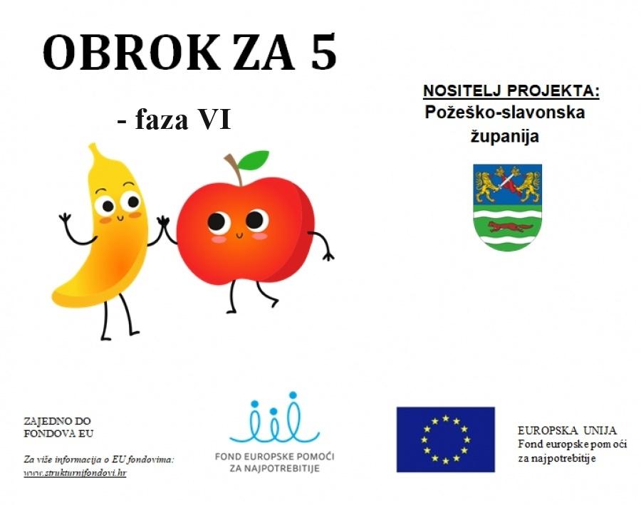 Požeško-slavonska županija osigurala sredstva u iznosu milijun kuna za prehranu najpotrebitije školske djece