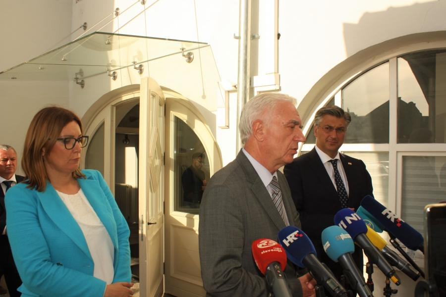 """Plenković:""""Na sjednici Vlade RH u četvrtak donijet ćemo odluku o pomoći Požeško-slavonskoj županiji"""""""