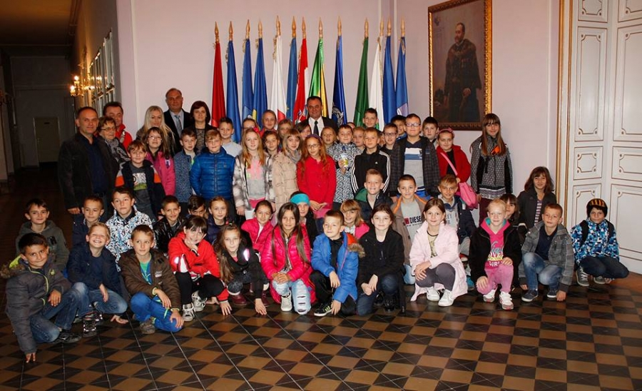 Kaptolački osnovnoškolci posjetili Požeško - slavonsku županiju