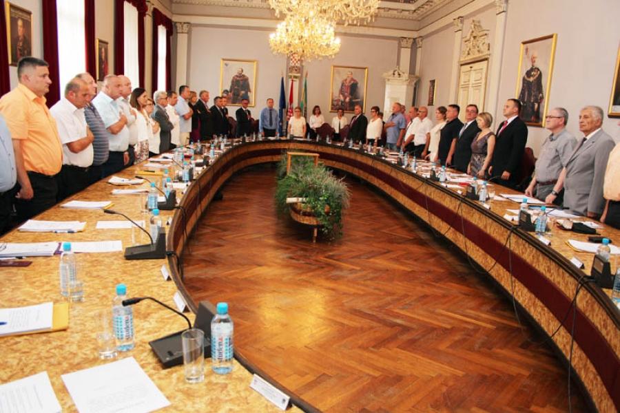 Održana Konstituirajuća sjednica Županijske skupštine