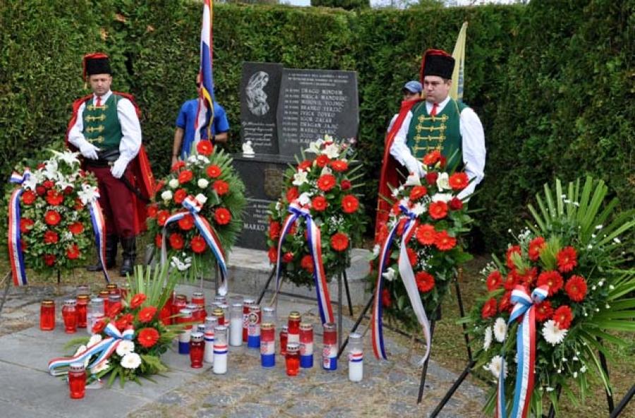 U Kamenskoj obilježena obljetnica prve vojne akcije i sjećanje na poginule hrvatske branitelje