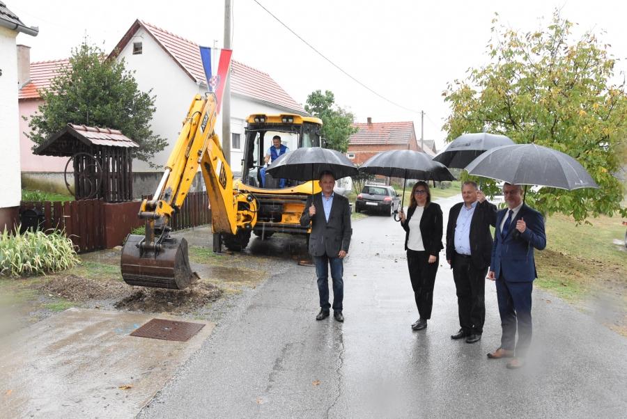 Izgradnja vodovodne mreže i sustava odvodnje u naseljima Cerovac i Granje