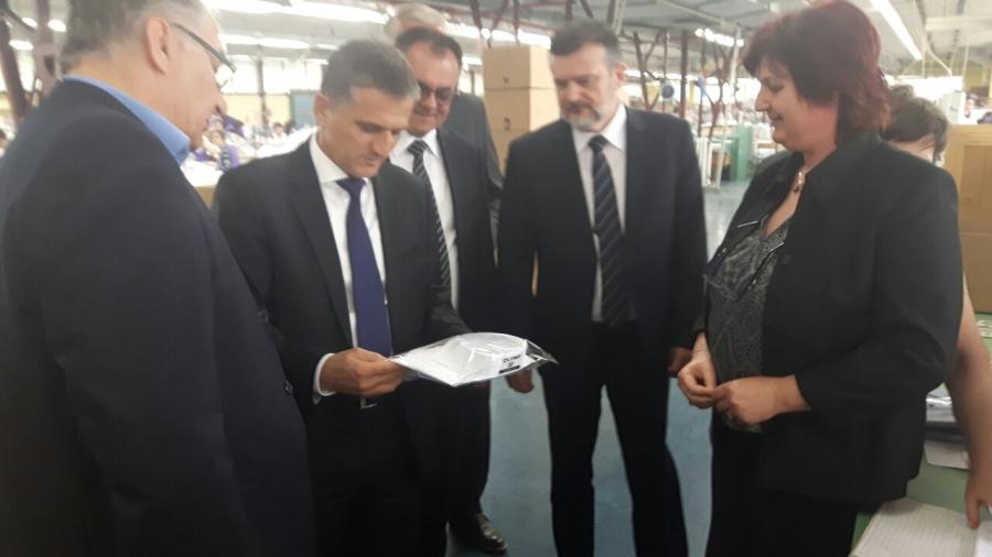 Ministar Marić u radnom posjetu Požeško-slavonskoj županiji