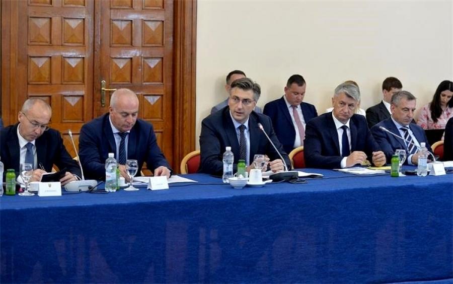 U Zadru održan 6. sastanak Vlade Republike Hrvatske sa županima