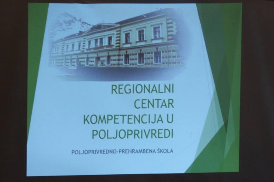 U Županijskoj vijećnici prezentiran projekt Poljoprivredno - prehrambene škole